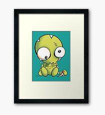 Cheese Zombies! Zedd Framed Print