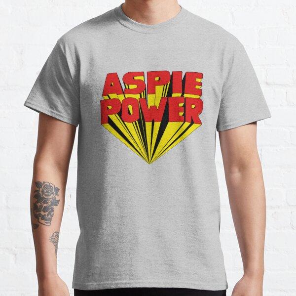 Aspie Power with a 60s 3D twist Classic T-Shirt
