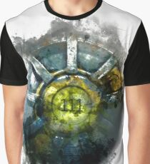Fallout 4 Vault 111 Door Painting Graphic T-Shirt