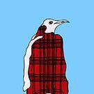 Tartan Penguin by Elvedee