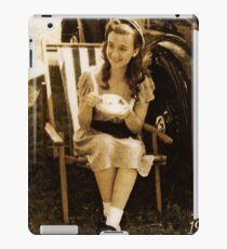 WW2 girl iPad Case/Skin