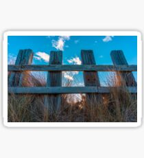 Beach Fences Sticker