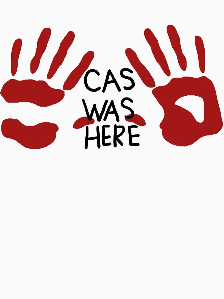 Castiel was here (handsy) | Unisex T-Shirt