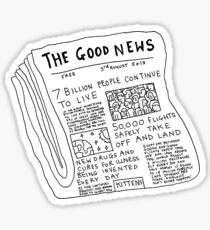 Newspaper Sticker