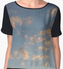clouds in the sky Chiffon Top