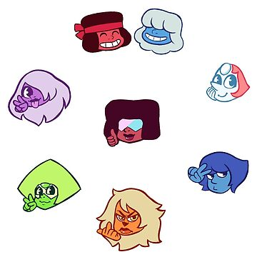 Gem Stickers by shounenmangas