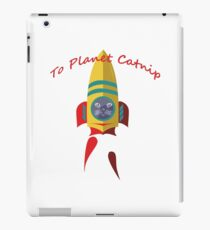 Cat - To Planet Catnip iPad Case/Skin