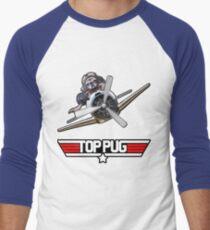 Top Pug  Men's Baseball ¾ T-Shirt