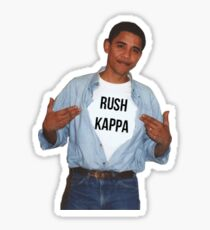 Obama Says Rush Kappa Sticker