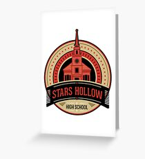Stars Hollow High School  Greeting Card