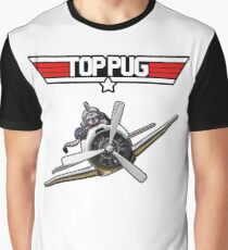 Top Pug  Graphic T-Shirt