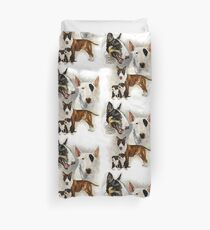 Bull Terrier Duvet Cover