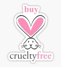 Buy Cruelty Free Bunny Sticker