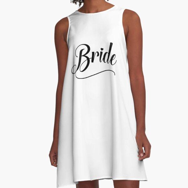 Bride A-Line Dress