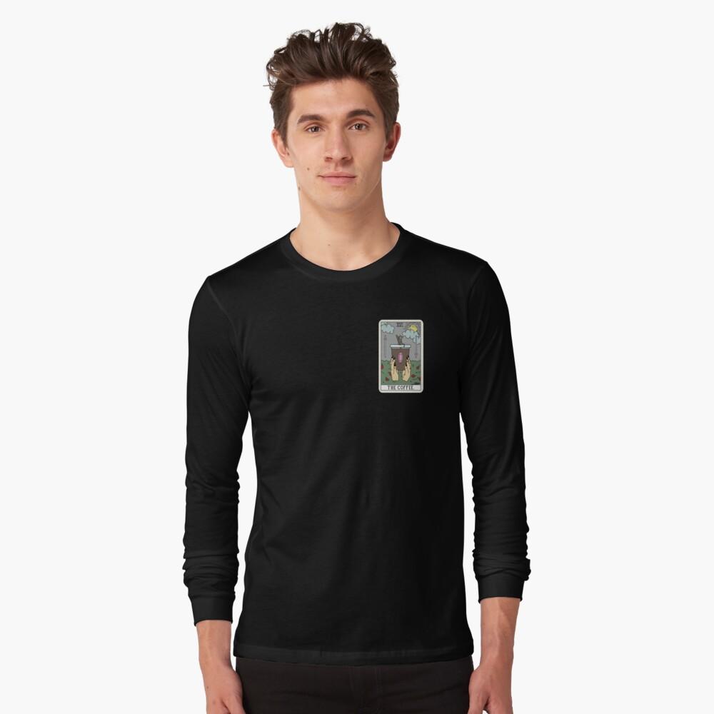 (Black) Coffee Reading Long Sleeve T-Shirt