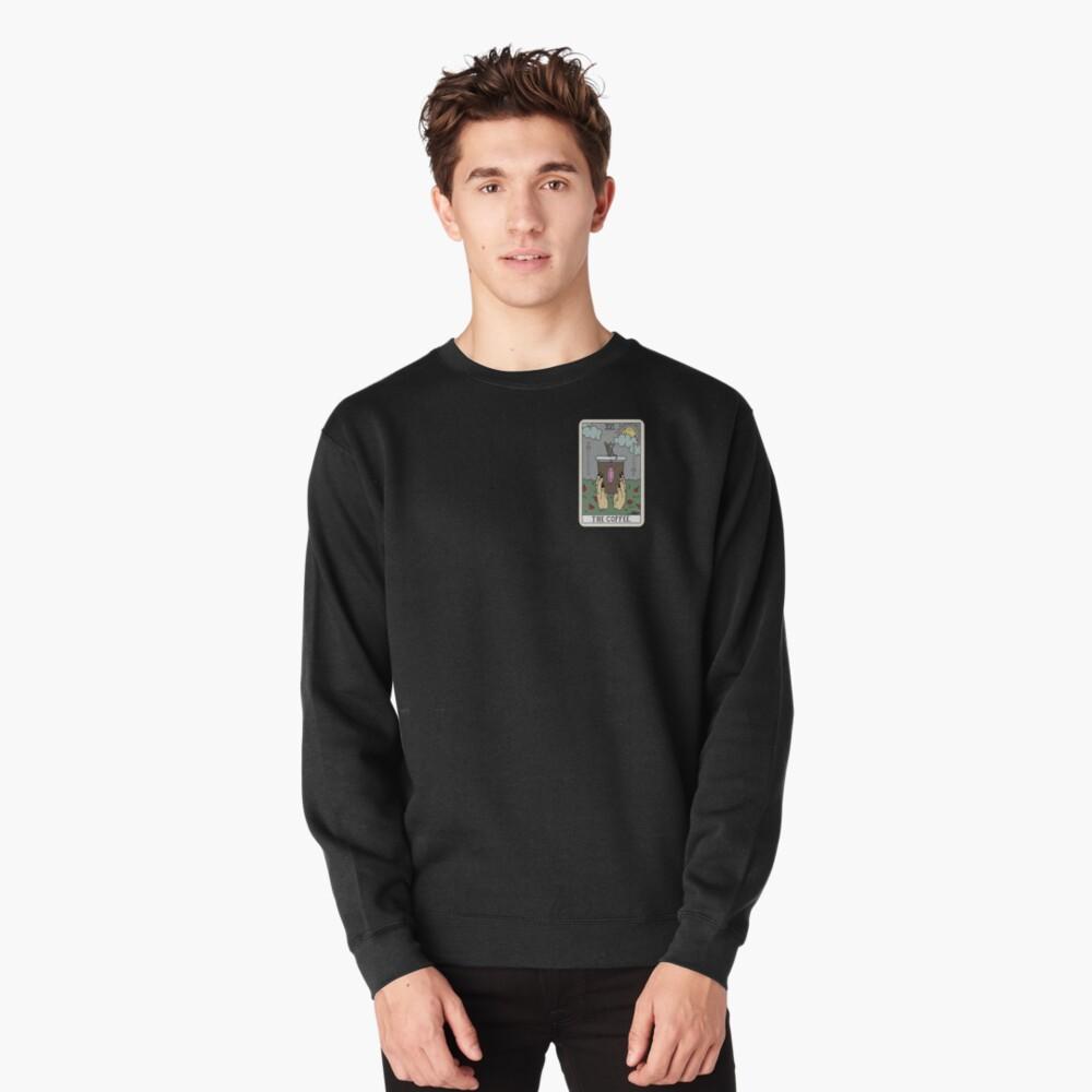 (Black) Coffee Reading Pullover Sweatshirt