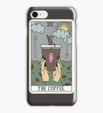 (Black) Coffee Reading iPhone Case/Skin