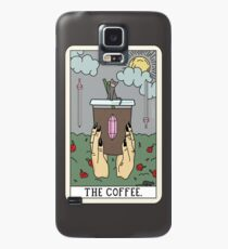 (Black) Coffee Reading Case/Skin for Samsung Galaxy