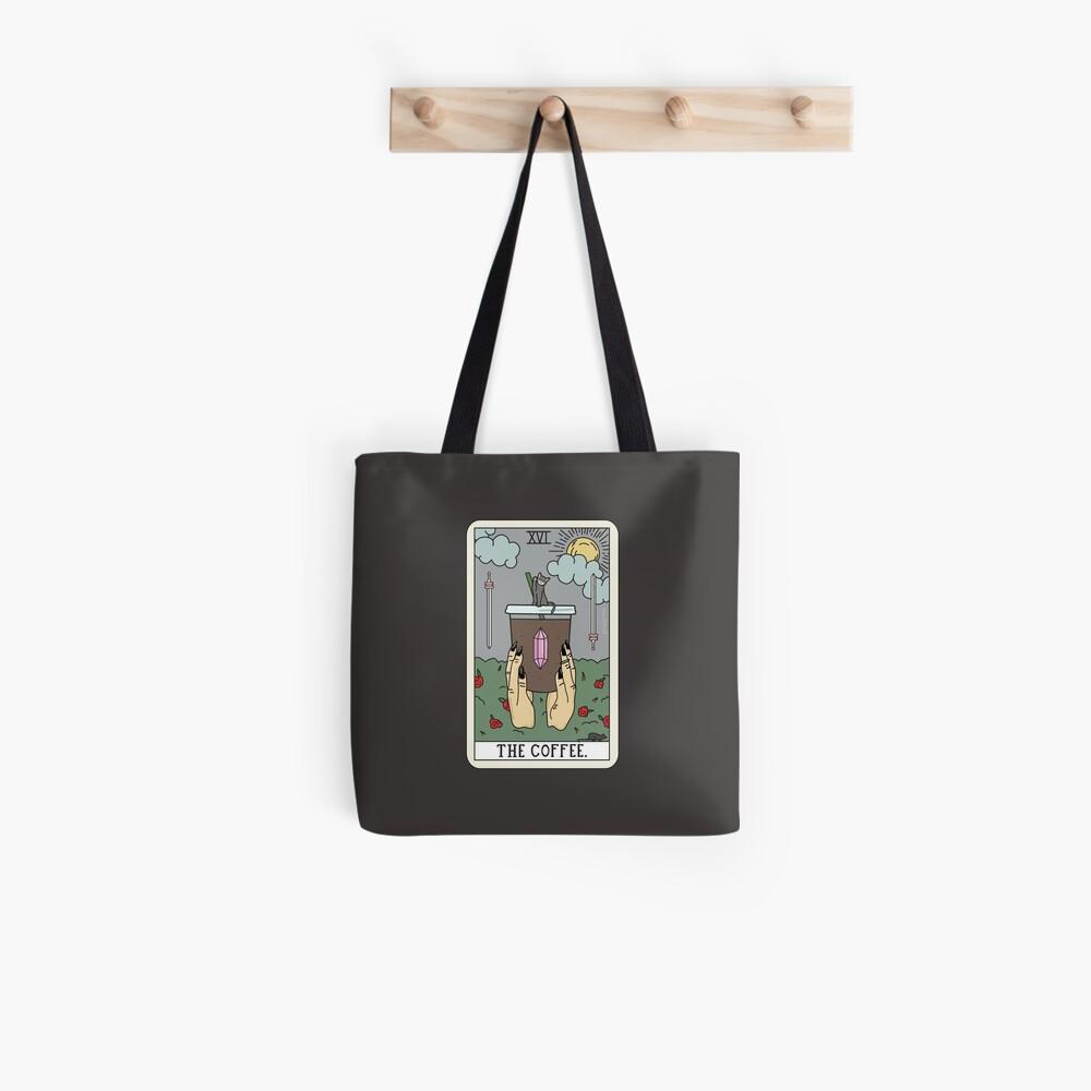 (Black) Coffee Reading Tote Bag