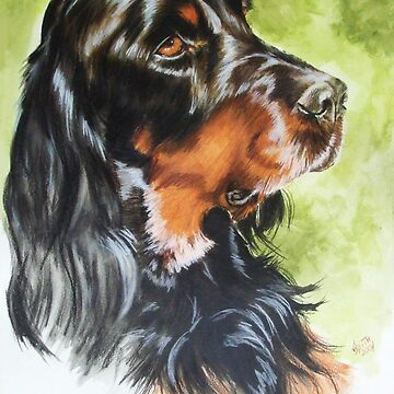 Gordon Setter by BarbBarcikKeith