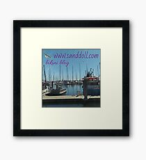 Sanddoll blog  Framed Print
