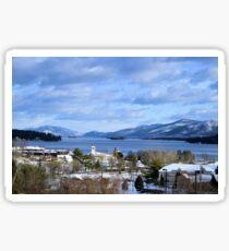 Winters lake Sticker