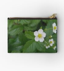 Strawberry Blooms Studio Pouch