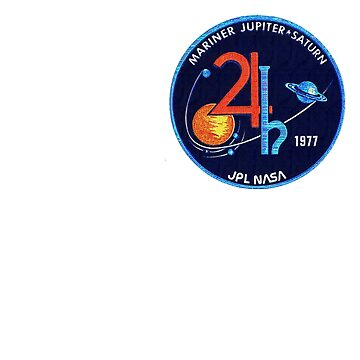 Mariner Jupiter/Saturn '77 - small patch insignia by thelogbook