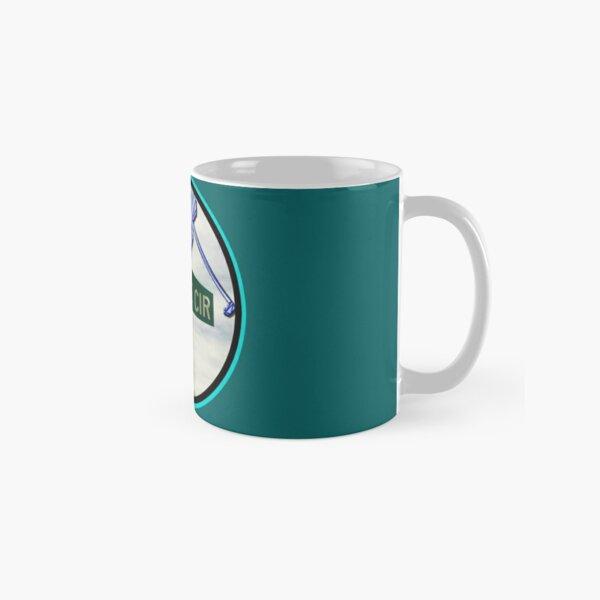Tee Time Circle - Silhouette Classic Mug