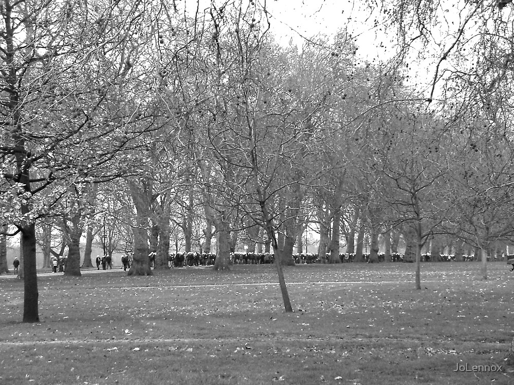 Hyde Park March by JoLennox
