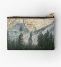Time to Travel - Mountains and Forests Zipper Pouch