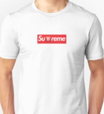 Camiseta unisex Supreme Box Logo B Emoji