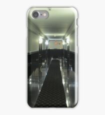 Black and white hallway iPhone Case/Skin