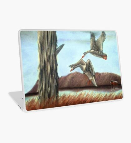 RESTING PLACE, Pastel Painting, for prints and products Laptop Skin