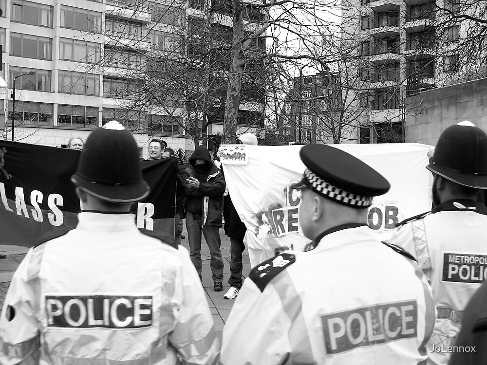 A tiny bit of resistance? by JoLennox