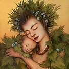 Hawthorn Mother by Ingrid  Kallick