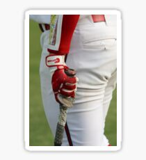 Baseball Player - Ready for Action Sticker
