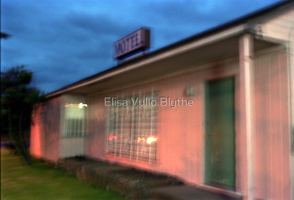 Triple Motel Room by Elisa Vullo Blythe