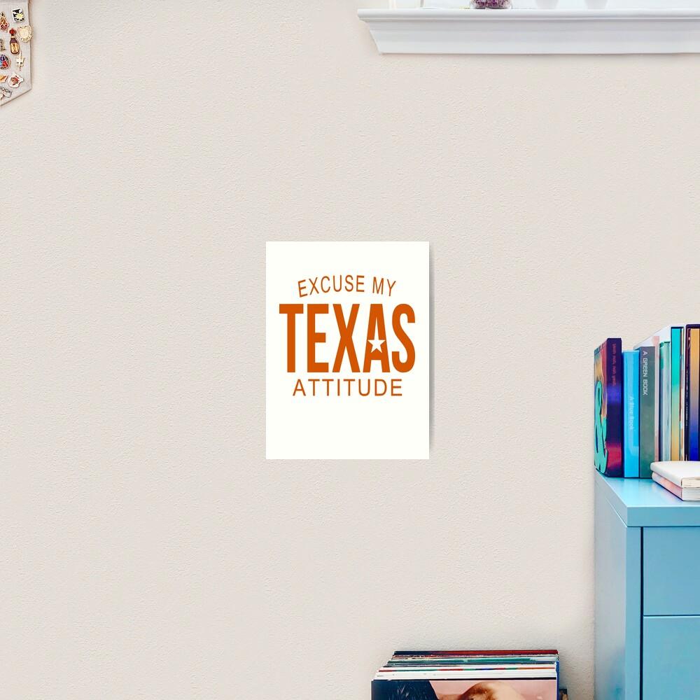 Download Texas Attitude * Excuse My Attitude Cut File Design