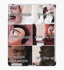 Ironic memes iPad Case/Skin