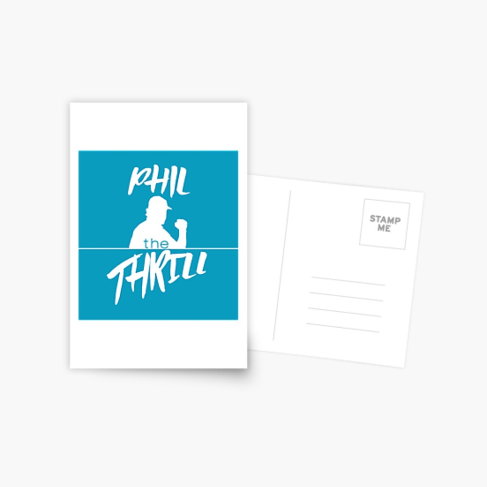 Phil der Nervenkitzel Postkarte