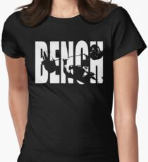 BENCH Press Iconic Womens Fitted T-Shirt