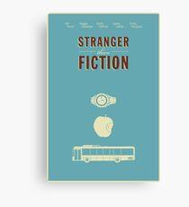 Stranger Than Fiction poster Canvas Print
