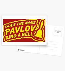 Does the Name Pavlov Ring a Bell? Postcards