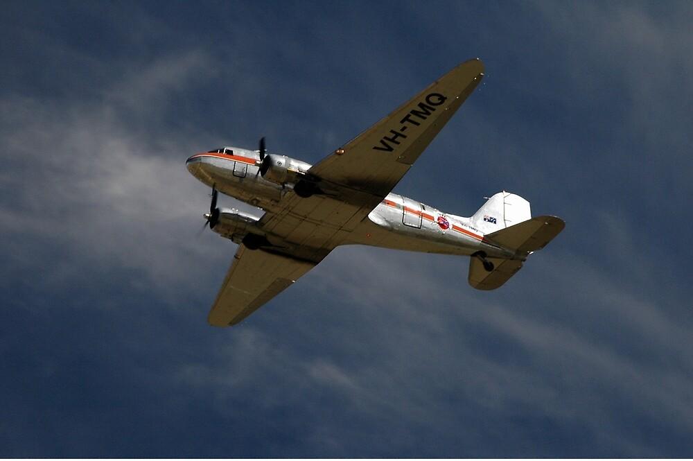 DC3 @ Melton Centenary Airshow 2010, Victoria, Australia by muz2142