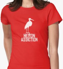 Heron Addiction Women's Fitted T-Shirt