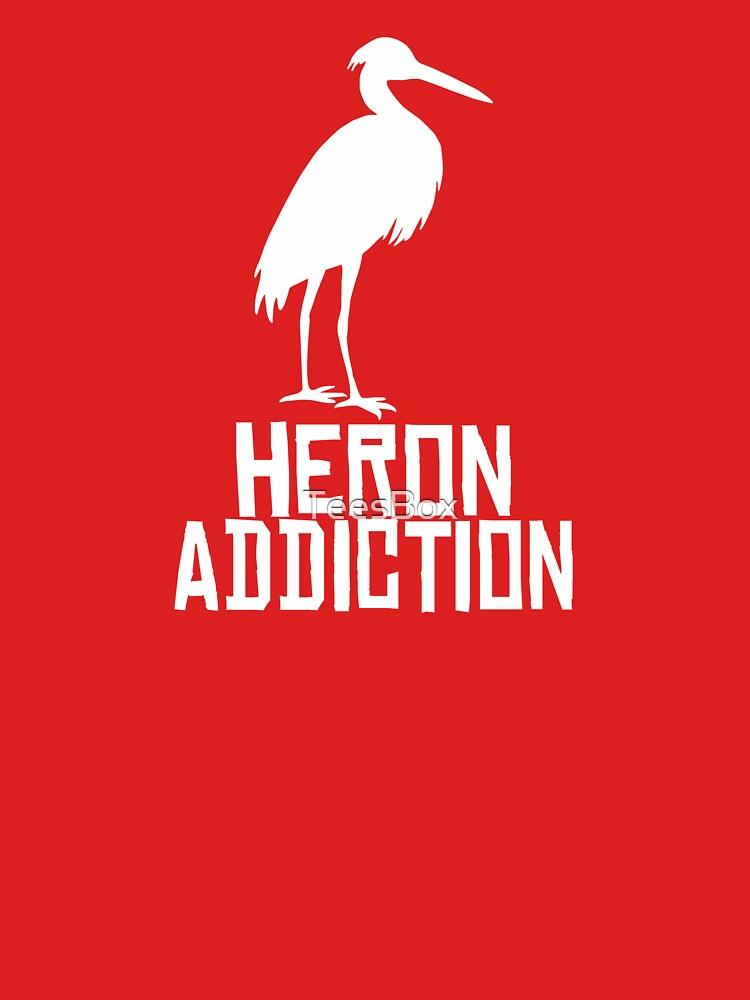 Heron Addiction by TeesBox