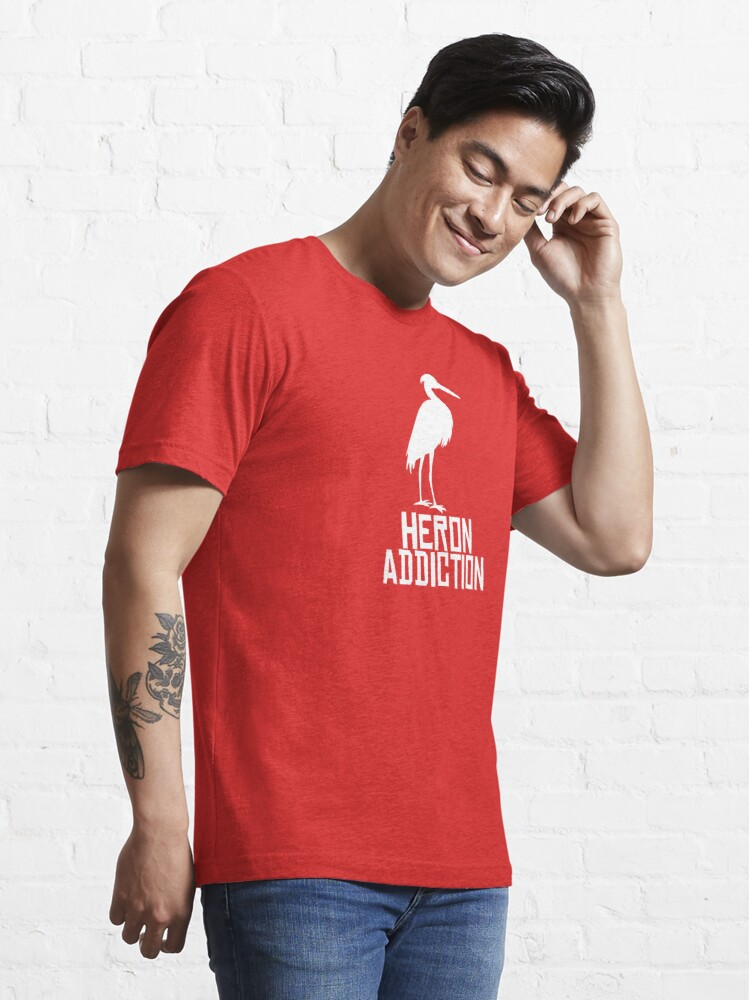 Alternate view of Heron Addiction Essential T-Shirt