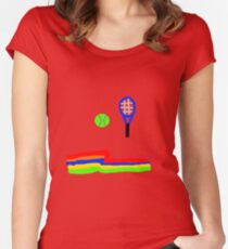 What A Racquet! Women's Fitted Scoop T-Shirt