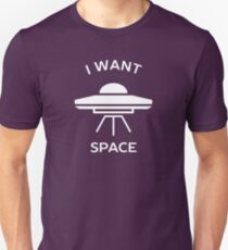 I want space introvert  Unisex T-Shirt